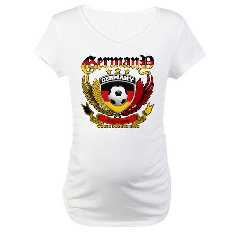 Deutschland Germany 2010 World Soccer Maternity T-