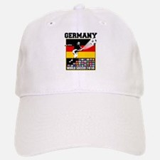 Germany World Soccer Baseball Baseball Cap