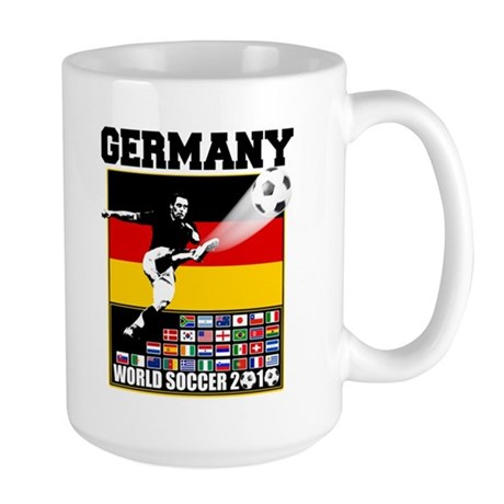 Germany World Soccer Large Mug