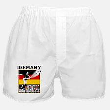 Germany World Soccer Boxer Shorts