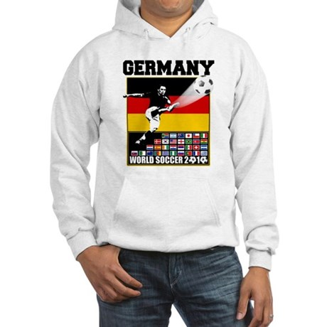 Germany World Soccer Hooded Sweatshirt