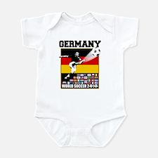 Germany World Soccer Infant Bodysuit