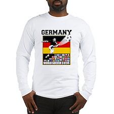 Germany World Soccer Long Sleeve T-Shirt