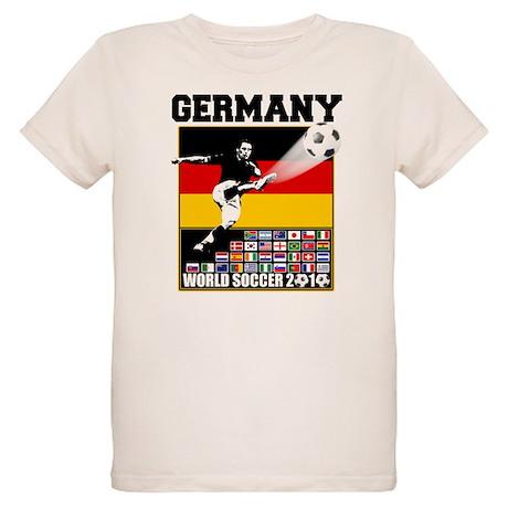 Germany World Soccer Organic Kids T-Shirt