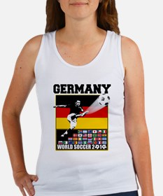 Germany World Soccer Women's Tank Top