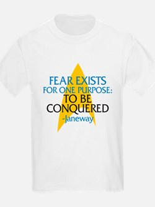 Star Trek: Janeway Fear Quote T-Shirt