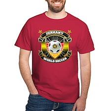 Germany World Soccer Cardinal T-Shirt