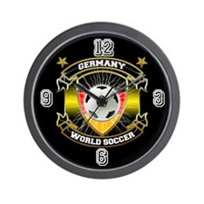 Germany World Soccer Wall Clock