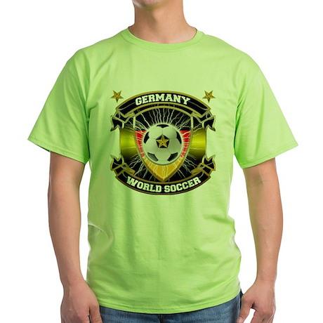 Germany World Soccer Green T-Shirt