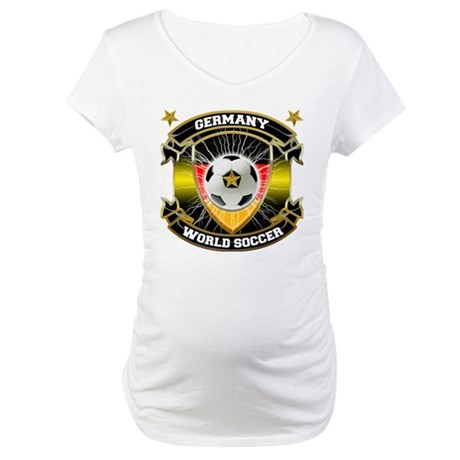 Germany World Soccer Maternity T-Shirt