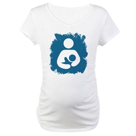 Sentient Baby Maternity T-Shirt