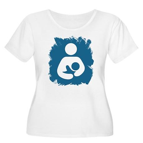 Sentient Baby Women's Plus Size Scoop Neck T-Shirt