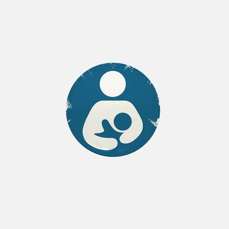 Sentient Baby Mini Button
