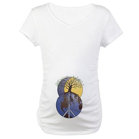 Sacred Tree Maternity T-Shirt