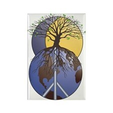 Sacred Tree Rectangle Magnet (100 pack)