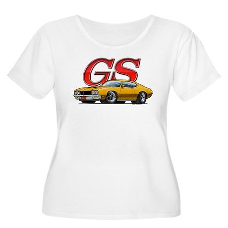 Gold Skylark GS Women's Plus Size Scoop Neck T-Shi