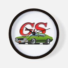 Green Skylark GS Wall Clock
