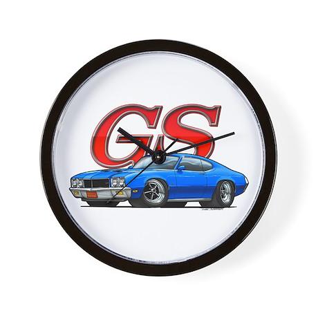 Blue Skylark GS Wall Clock