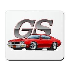 Red Skylark GS Mousepad