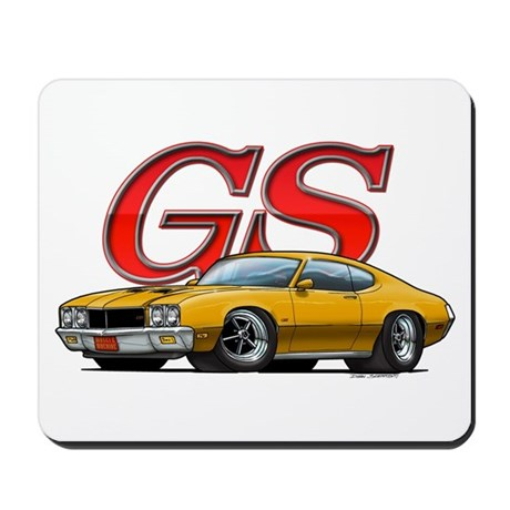 Gold Skylark GS Mousepad