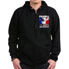 France World Soccer Zip Hoodie