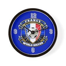 France World Soccer Wall Clock