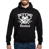 Defend cleveland Hoodie (dark)