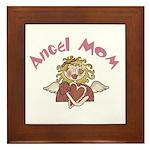 Angel Mom Framed Tile