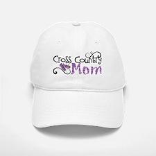 Cross Country Mom Baseball Baseball Cap