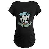 Dental hygienist Maternity T-shirts (Dark)
