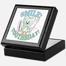 Smile It's Toothsday! Keepsake Box