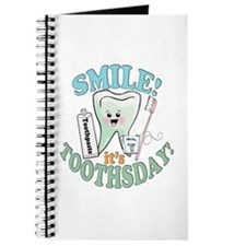 Smile It's Toothsday! Journal