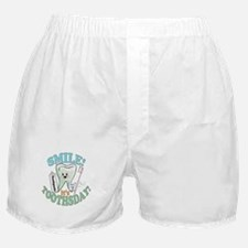 Smile It's Toothsday! Boxer Shorts