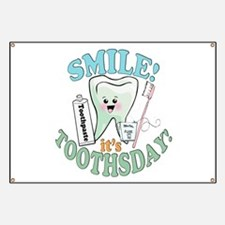 Smile It's Toothsday! Banner