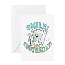 Smile It's Toothsday! Greeting Card