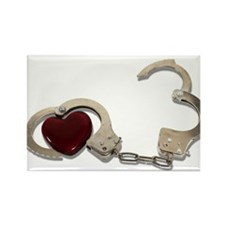 Locked in Love Rectangle Magnet