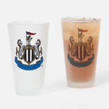 Newcastle United FC Crest Drinking Glass