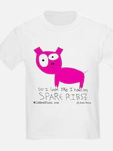 Wild Eyed Pixie - SpareRibs Kids T-Shirt