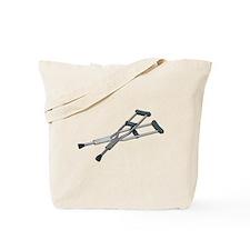 Metal Crutches Tote Bag