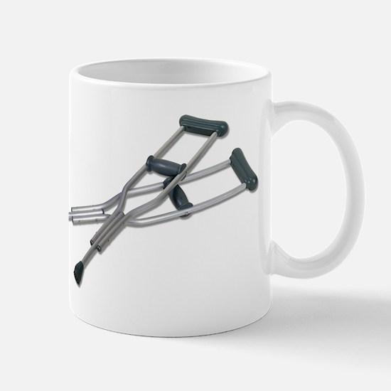 Metal Crutches Mug