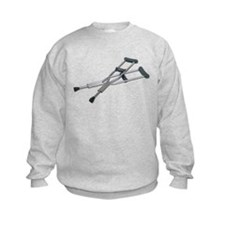 Metal Crutches Sweatshirt