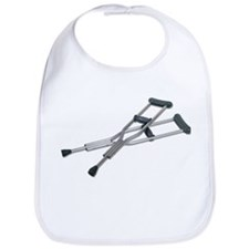 Metal Crutches Bib