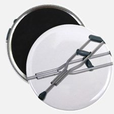 """Metal Crutches 2.25"""" Magnet (10 pack)"""
