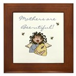 Mothers Are Bee-utiful Framed Tile
