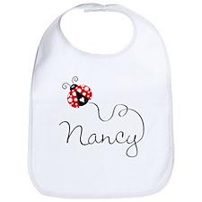Ladybug Nancy Bib