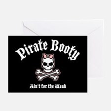 Booty Ain't for the Weak Greeting Cards (Pk of 10)