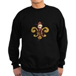 Cajun French Who Dat Sweatshirt (dark)