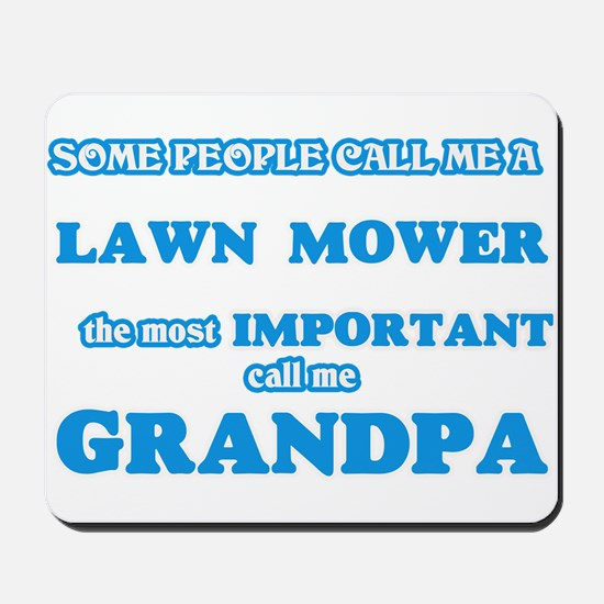 Some call me a Lawn Mower, the most impo Mousepad