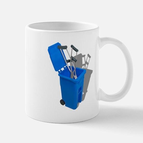 Recycled Crutches Mug