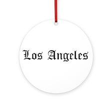 Los Angeles LA Ornament (Round)